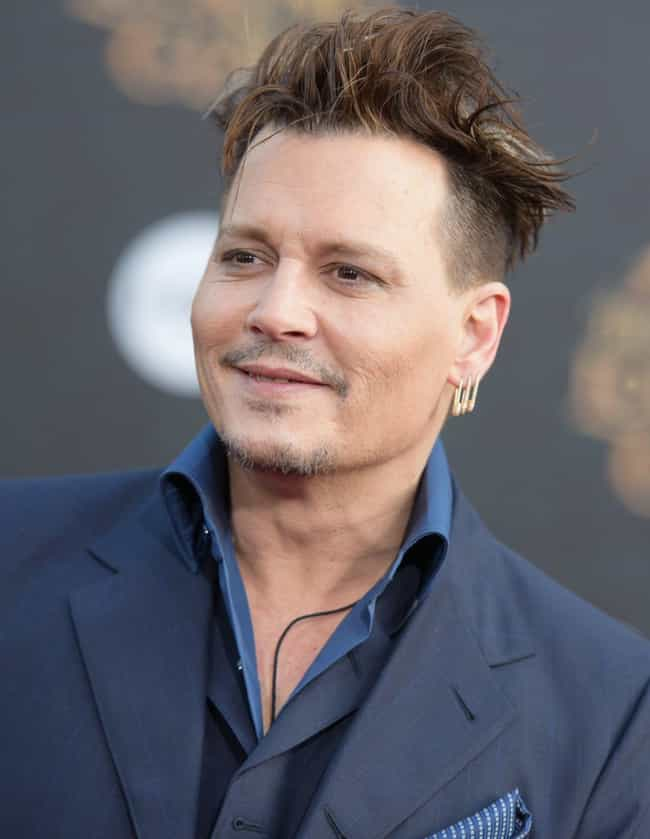 Johnny Depp is listed (or ranked) 5 on the list Celebrities Who Are Godparents For Their Famous Friends