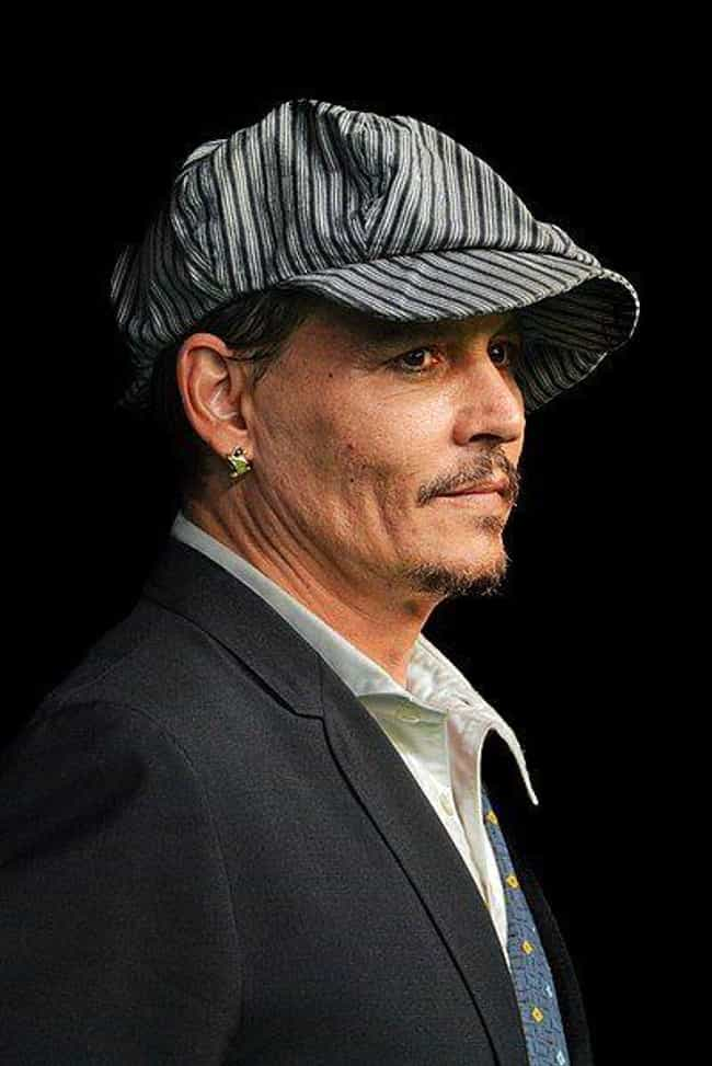 Johnny Depp is listed (or ranked) 1 on the list 20 Celebrities Who Play In A Band