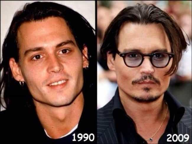 Johnny Depp is listed (or ranked) 3 on the list Celebrities Who Have Aged the Best