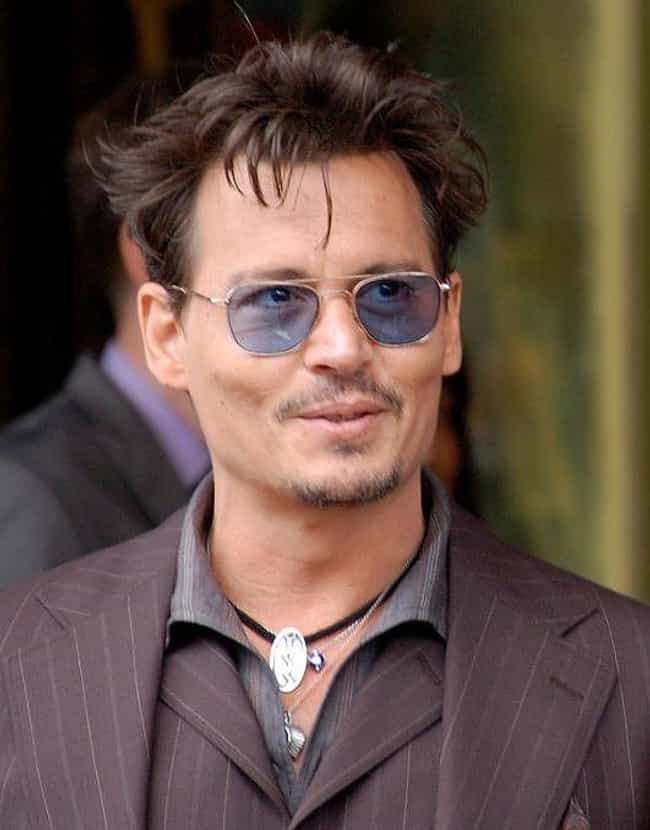 Johnny Depp is listed (or ranked) 3 on the list The Hottest Actors in 2013 Movies
