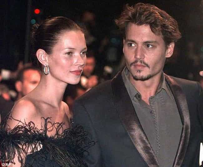 Johnny Depp is listed (or ranked) 3 on the list Famous Friends of Kate Moss