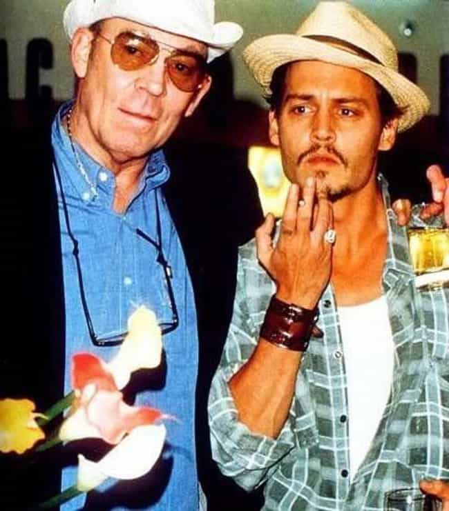 Johnny Depp is listed (or ranked) 1 on the list Hunter S. Thompson's Iconic and Famous Friends