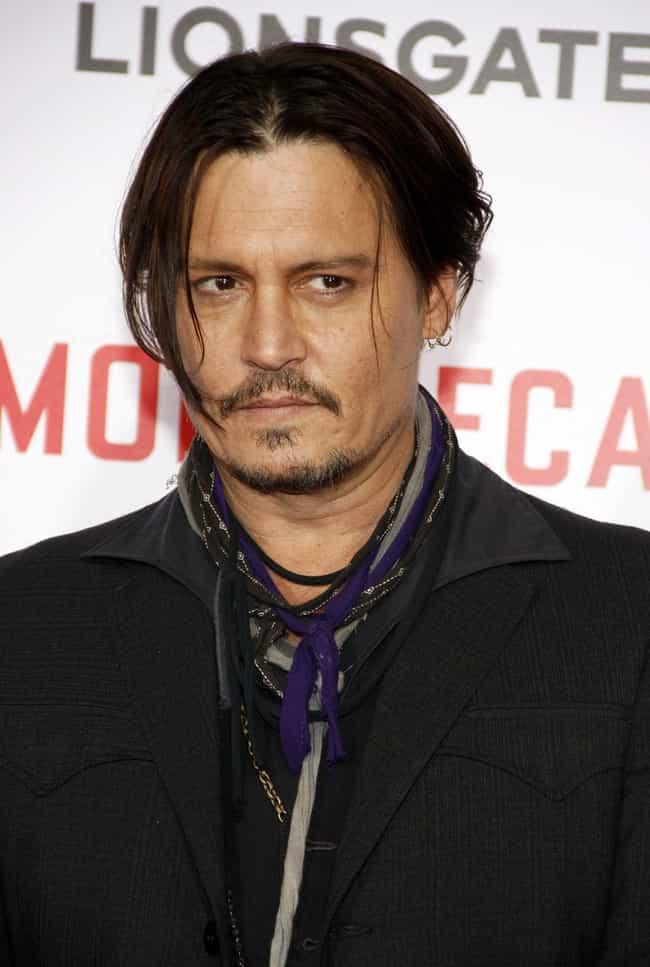 Johnny Depp is listed (or ranked) 2 on the list 50+ Celebrities Who Suffer from Anxiety