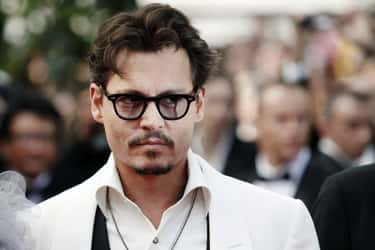 Johnny Depp is listed (or ranked) 1 on the list Famous Male Guitarists