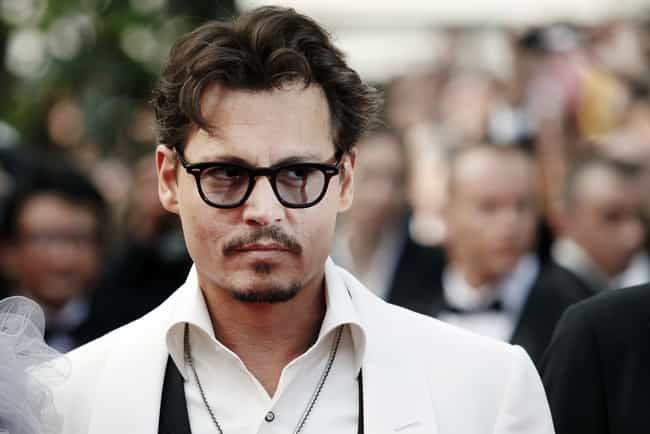 Johnny Depp is listed (or ranked) 1 on the list Famous INFPs