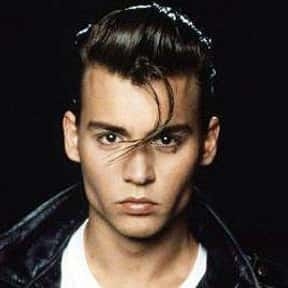 Johnny Depp is listed (or ranked) 4 on the list The Greatest '80s Teen Stars