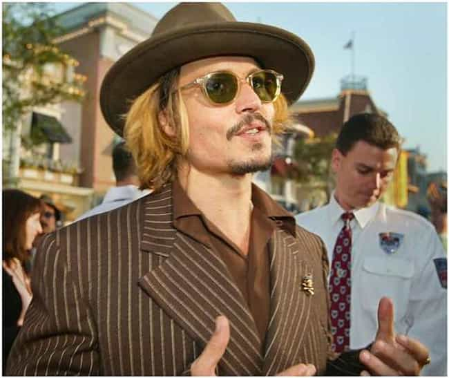 Johnny Depp is listed (or ranked) 1 on the list Famous High School Dropouts