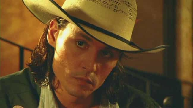 Johnny Depp is listed (or ranked) 4 on the list Hot Celebrity Guys in Cowboy Hats