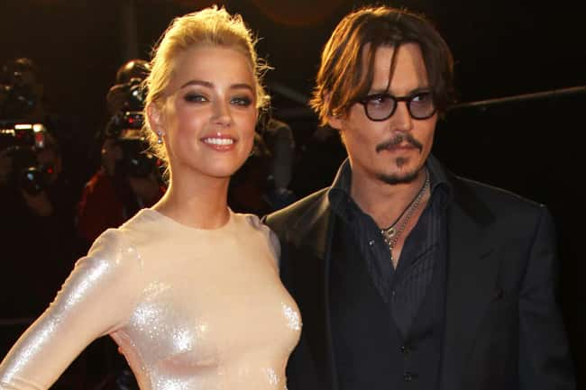 Johnny Depp is listed (or ranked) 23 on the list 48 Famous Couples with Huge Age Differences