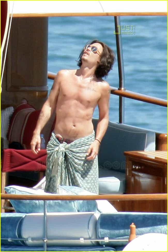 Johnny Depp is listed (or ranked) 2 on the list 26 Celebrities with Chest Tattoos