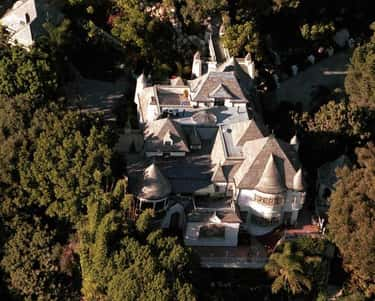 Johnny Depp in West Hollywood, is listed (or ranked) 1 on the list 41 Drool-Worthy Celebrity Homes