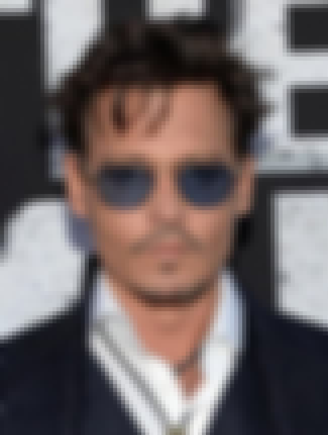 Johnny Depp is listed (or ranked) 4 on the list Celebrities Who Had Weird Jobs Before They Were Famous