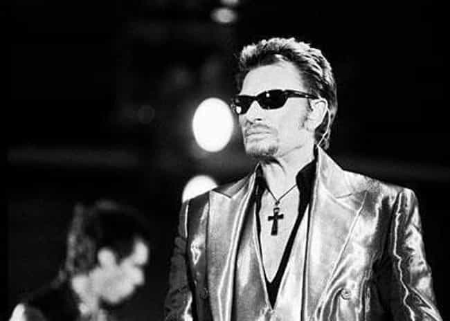 Johnny Hallyday is listed (or ranked) 4 on the list Musicians Who Died in 2017
