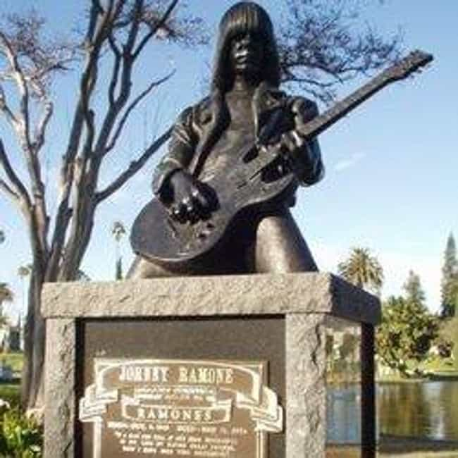 Johnny Ramone is listed (or ranked) 1 on the list Rock Stars with the Coolest Tombstones