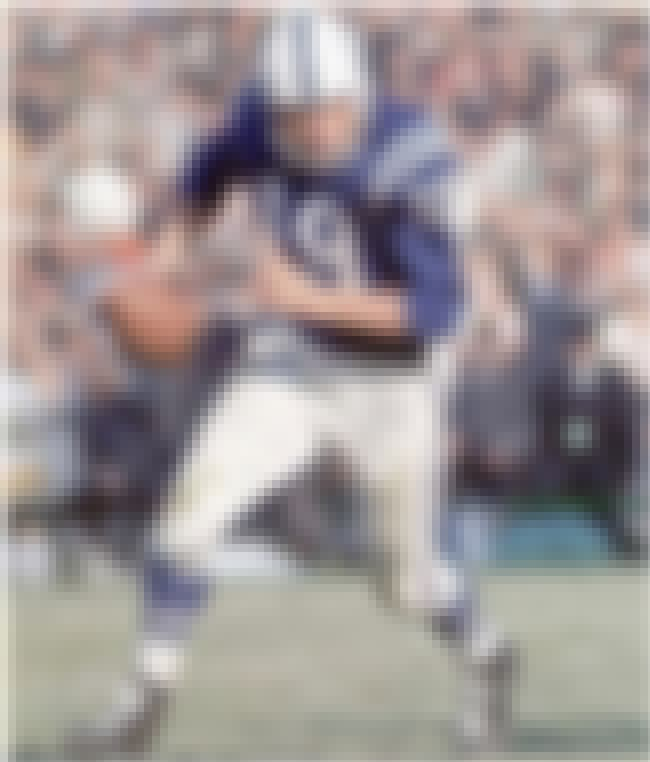 Johnny Unitas is listed (or ranked) 4 on the list The Top 10 Best Football Players of the 1960's
