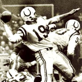 Johnny Unitas is listed (or ranked) 4 on the list The Best NFL Buys for the Money