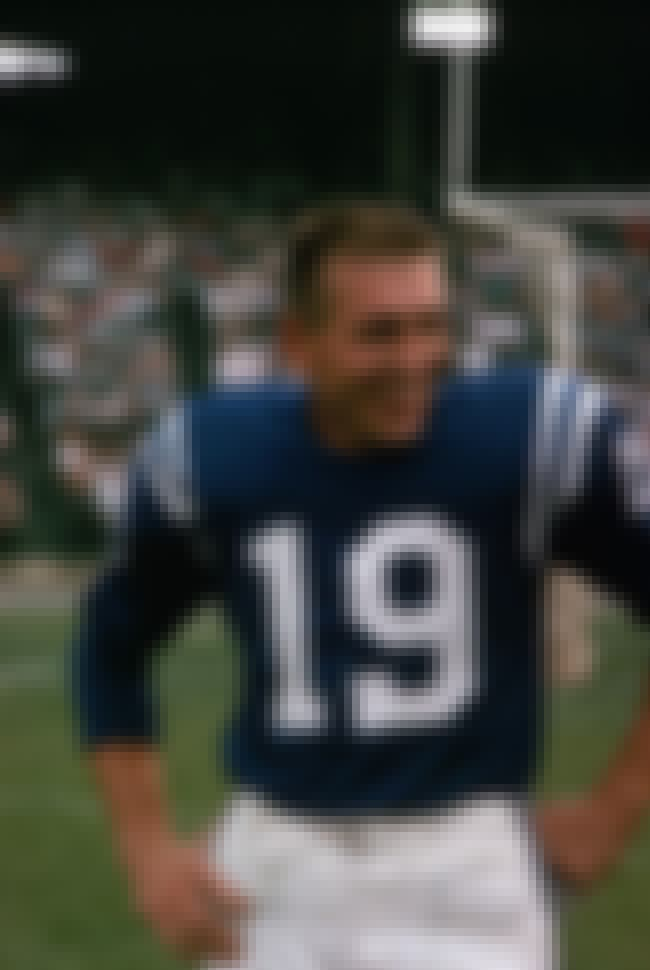 Johnny Unitas is listed (or ranked) 3 on the list The Top 10 Quarterbacks of All Time
