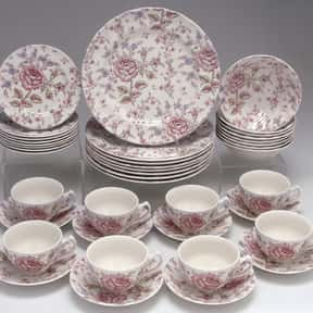 Johnson Brothers is listed (or ranked) 10 on the list The Best Fine China Brands
