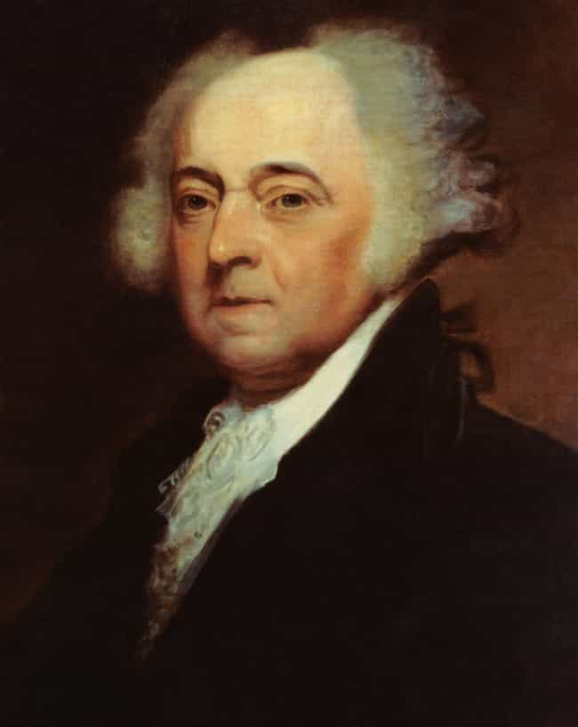 John Adams is listed (or ranked) 2 on the list Every U.S. President & Every Medical Problem They've Ever Had