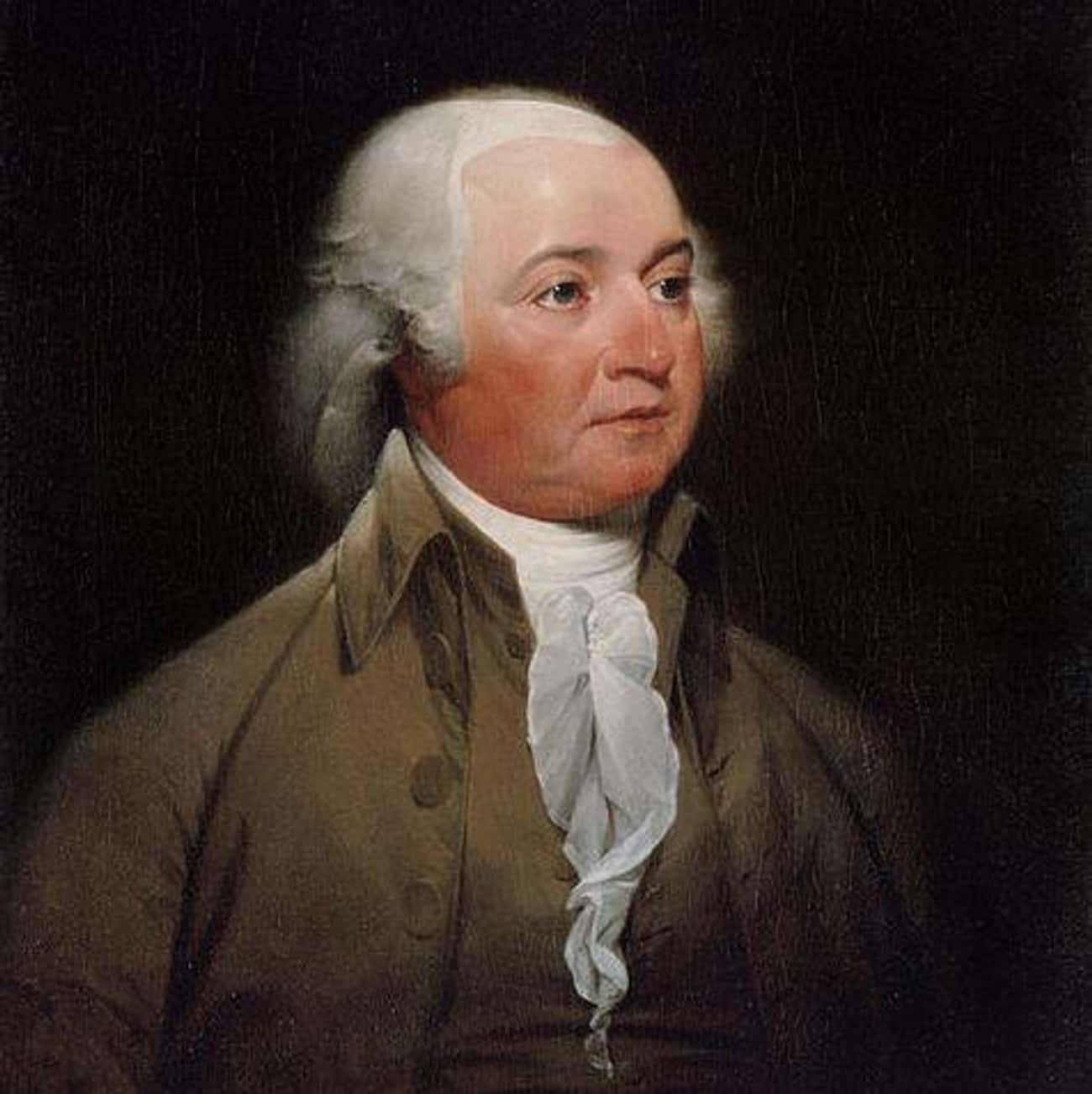 John Adams is listed (or ranked) 2 on the list The Different (Physical) Sizes Of US Presidents