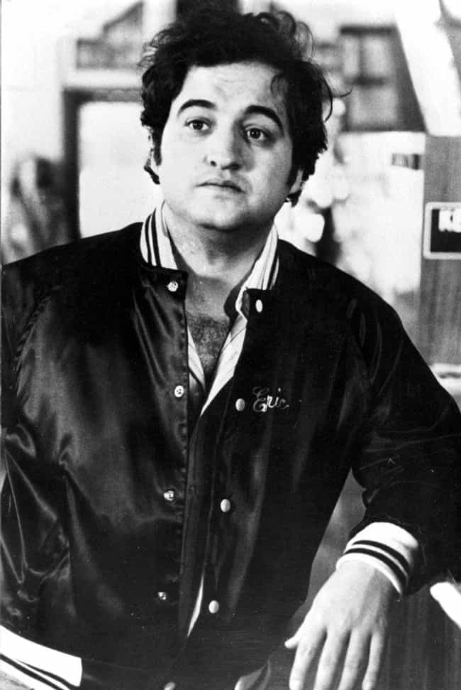 John Belushi is listed (or ranked) 4 on the list 34 Celebrities Who Played High School Football
