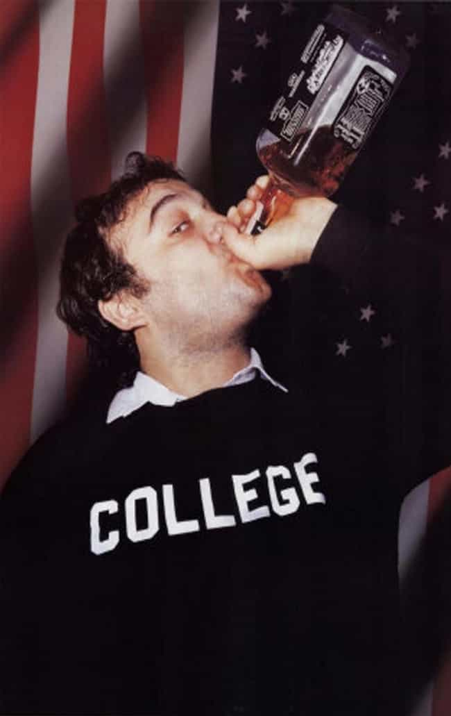 "John ""Bluto"" B... is listed (or ranked) 3 on the list The Posters You Always See in College"