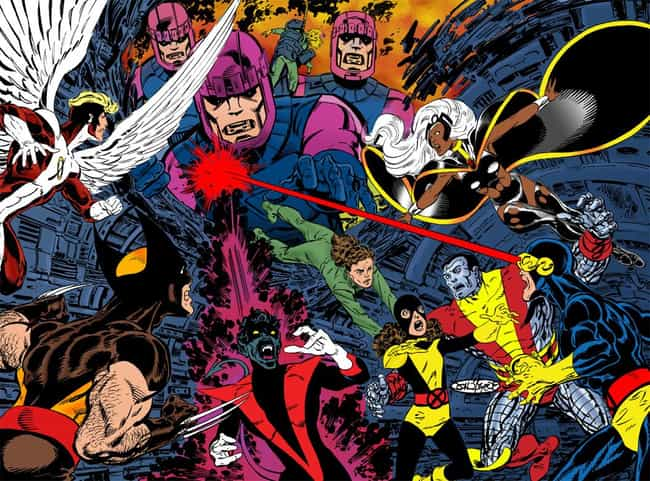 John Byrne is listed (or ranked) 2 on the list The Greatest X-Men Artists of All Time