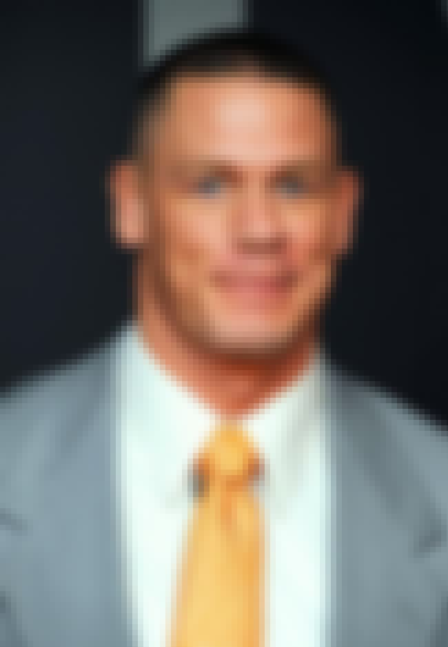 John Cena is listed (or ranked) 3 on the list Famous Male Wrestlers