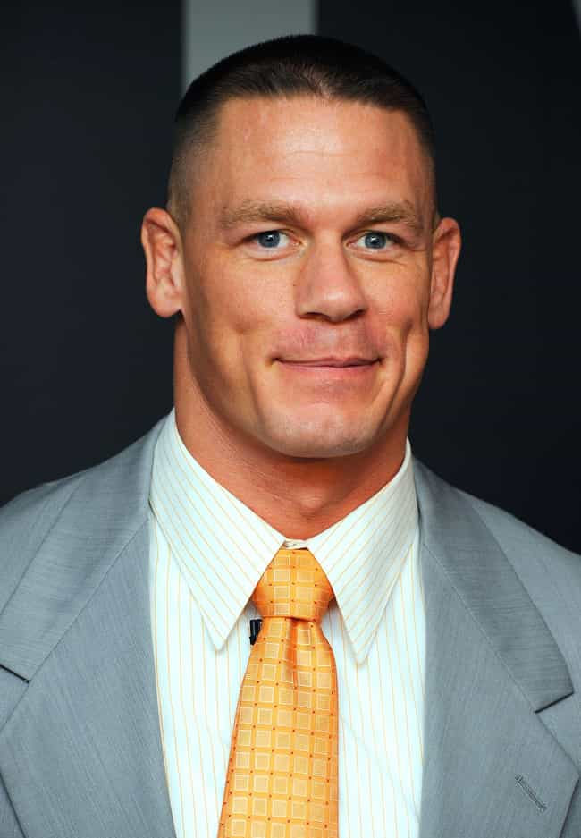 John Cena is listed (or ranked) 3 on the list Famous Cushing Academy Alumni