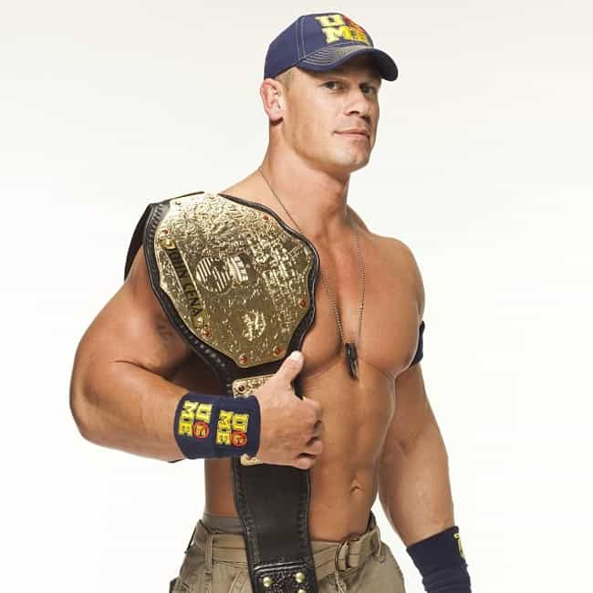 John Cena is listed (or ranked) 4 on the list The Best WWE World Heavyweight Champions