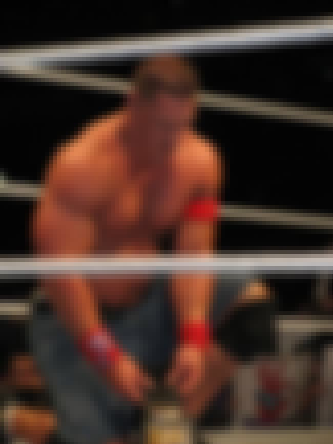 John Cena is listed (or ranked) 4 on the list The Hottest Current WWE Superstars