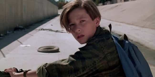 John Connor is listed (or ranked) 4 on the list Fictional Children Who Will Be the Most Messed Up Adults