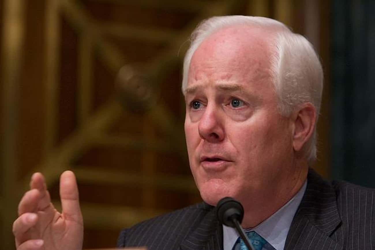 John Cornyn Wants You to Know  is listed (or ranked) 3 on the list Politicians Who Believe in Conspiracies