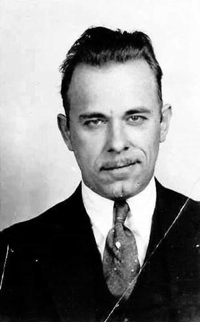 John Dillinger is listed (or ranked) 1 on the list Famous Penises That Went Down in History