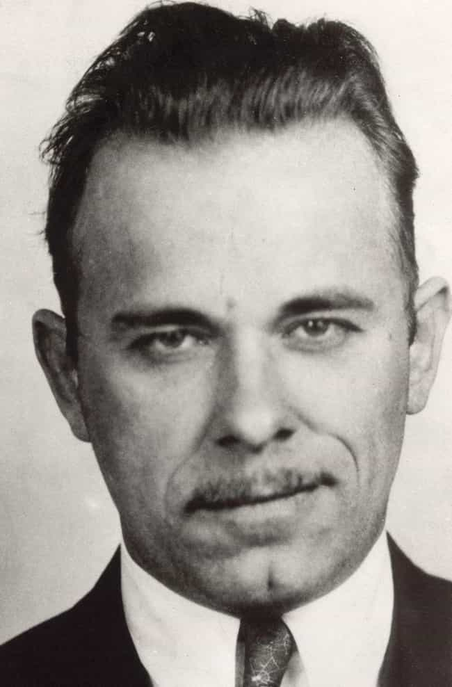 John Dillinger is listed (or ranked) 3 on the list 9 Utterly Bizarre Facts About Famous Gangsters