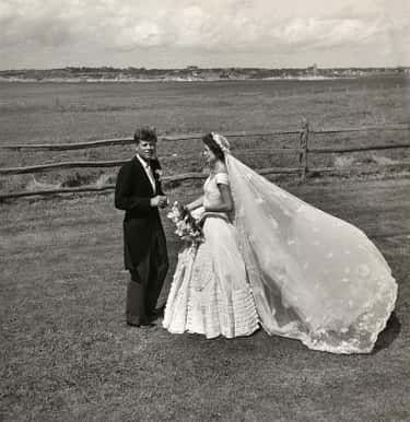 1961: John F. Kennedy And Jacqueline Kennedy