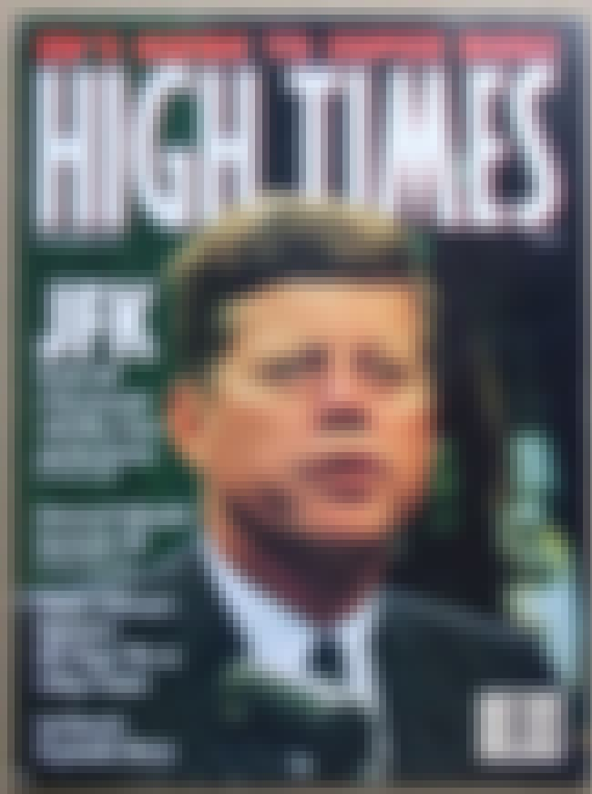 John F. Kennedy is listed (or ranked) 3 on the list The Best High Times Covers