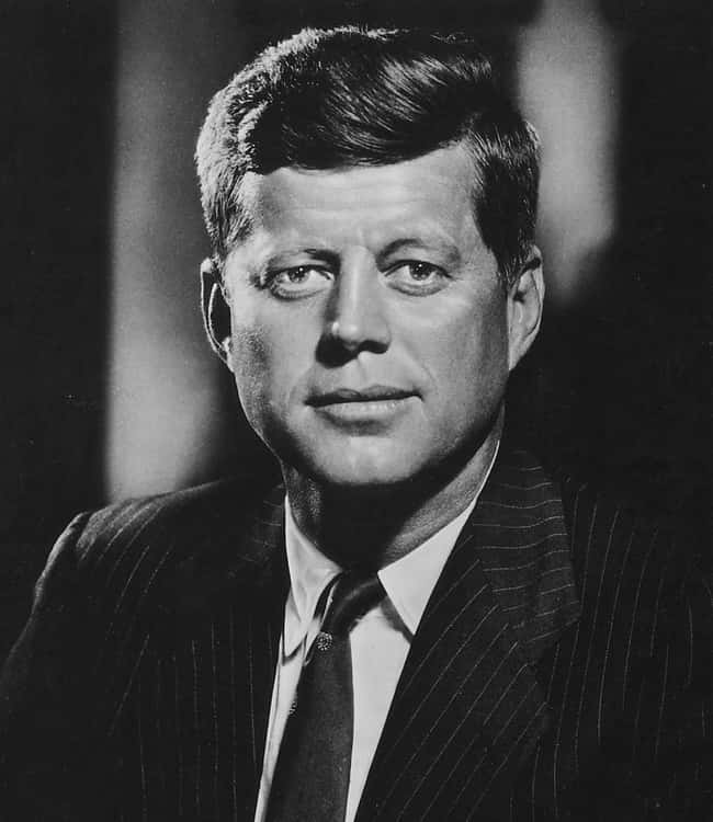 John F. Kennedy is listed (or ranked) 34 on the list Every U.S. President & Every Medical Problem They've Ever Had