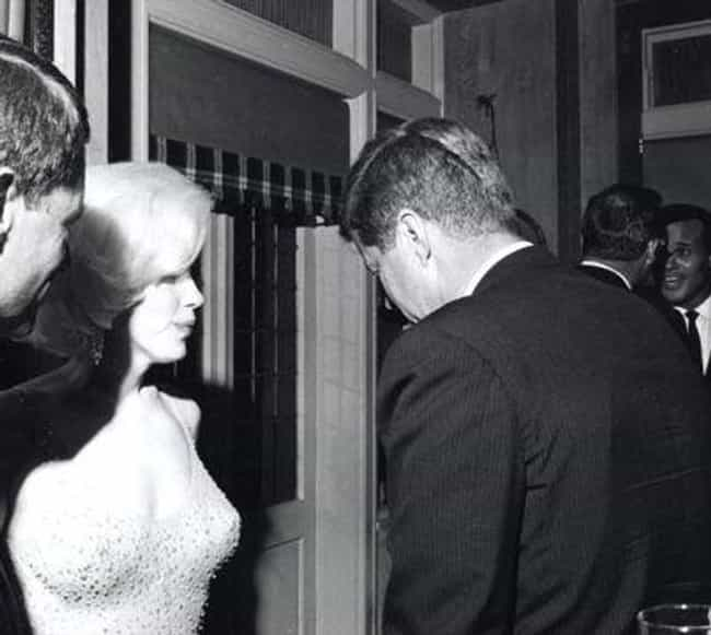 John F. Kennedy is listed (or ranked) 1 on the list Marilyn Monroe's Loves & Hookups
