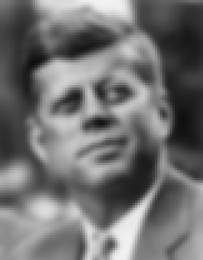 John F. Kennedy is listed (or ranked) 9 on the list 13 Ways Important Historical Figures Used Marijuana