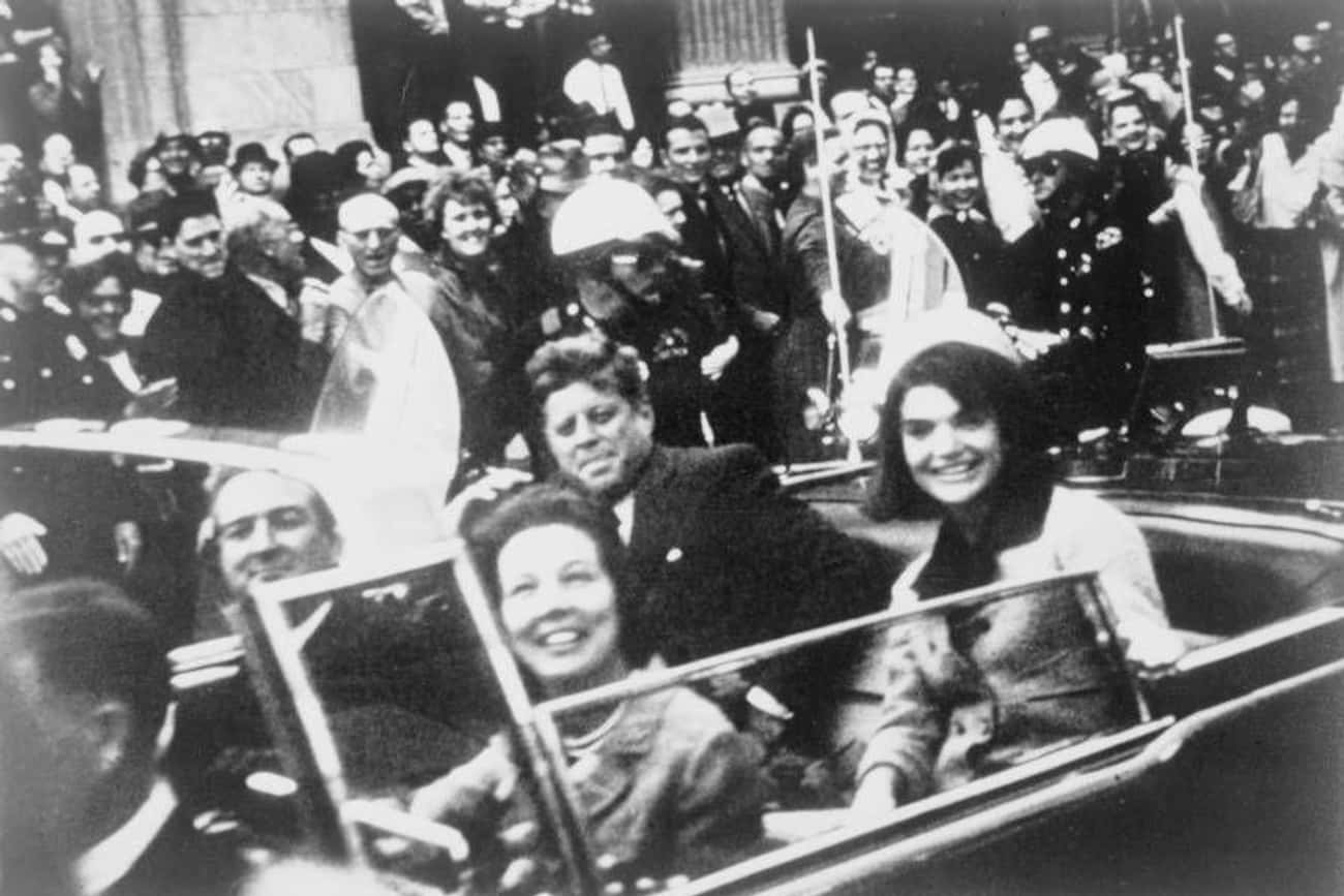 John F. Kennedy, Nov. 22, 1963 is listed (or ranked) 1 on the list The Last Pictures Of US Presidents Before They Died