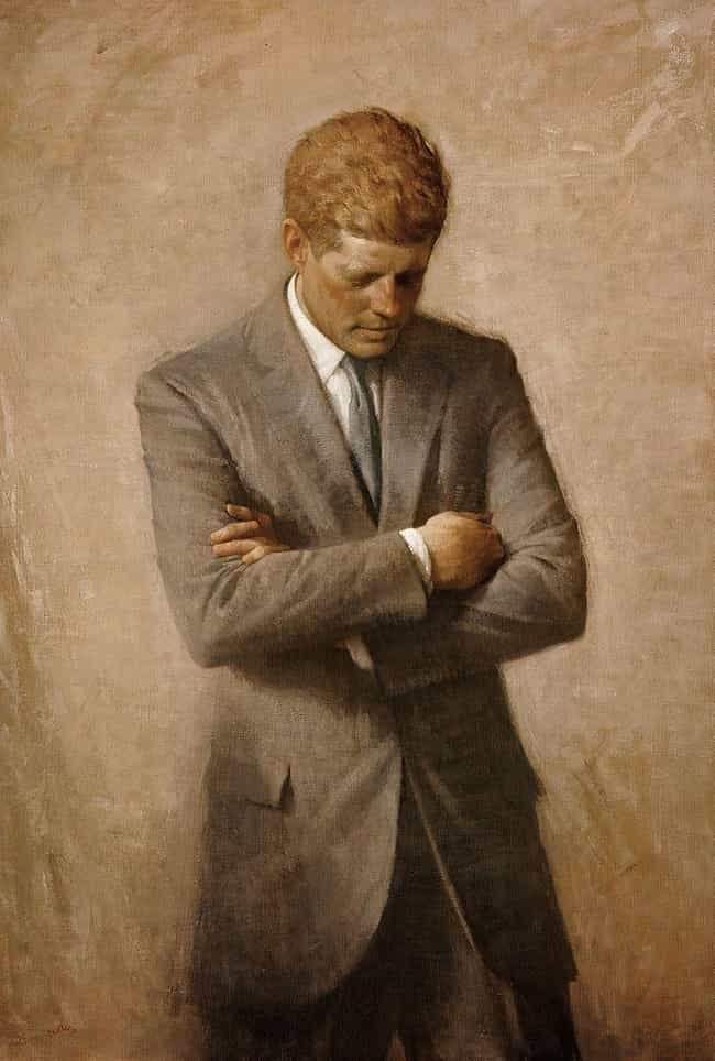 John F. Kennedy is listed (or ranked) 2 on the list All the Presidential Portraits, Ranked