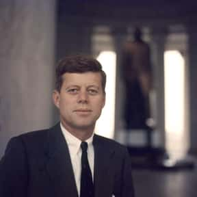 John F. Kennedy is listed (or ranked) 11 on the list People We Wish Were Still Alive