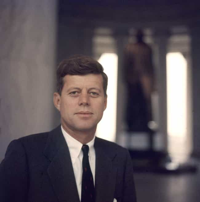 John F. Kennedy is listed (or ranked) 1 on the list Members of the Kennedy Family