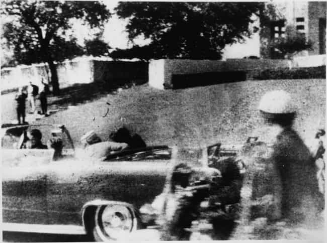 John F. Kennedy is listed (or ranked) 4 on the list Photos Taken Moments After History's Most Infamous Assassinations