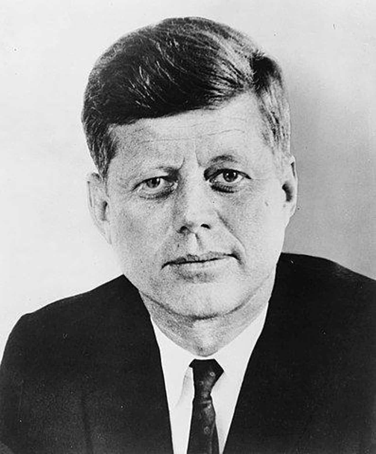 John F. Kennedy is listed (or ranked) 1 on the list 21 Politicians Who Were Assassinated