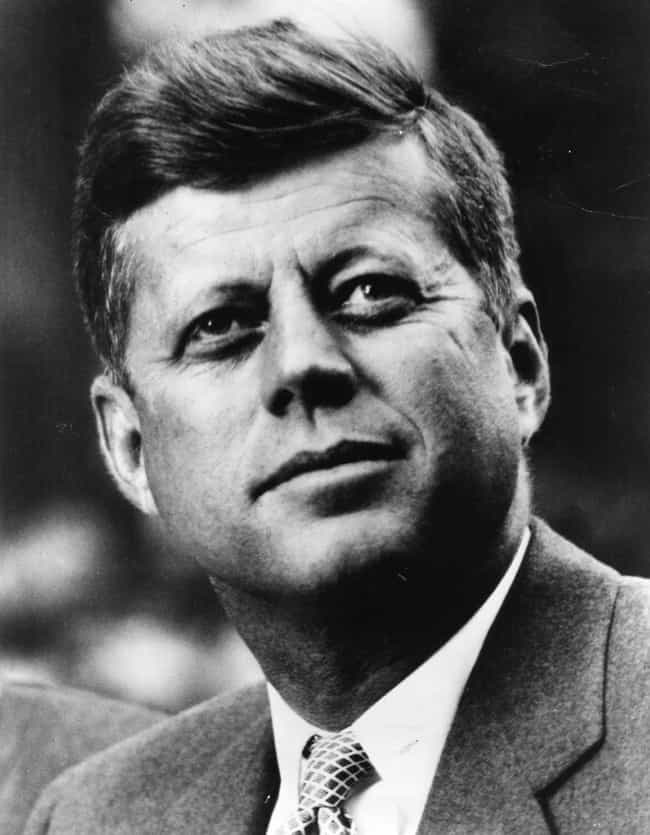 John F. Kennedy is listed (or ranked) 3 on the list Famous People (Allegedly) Killed Off By The Illuminati