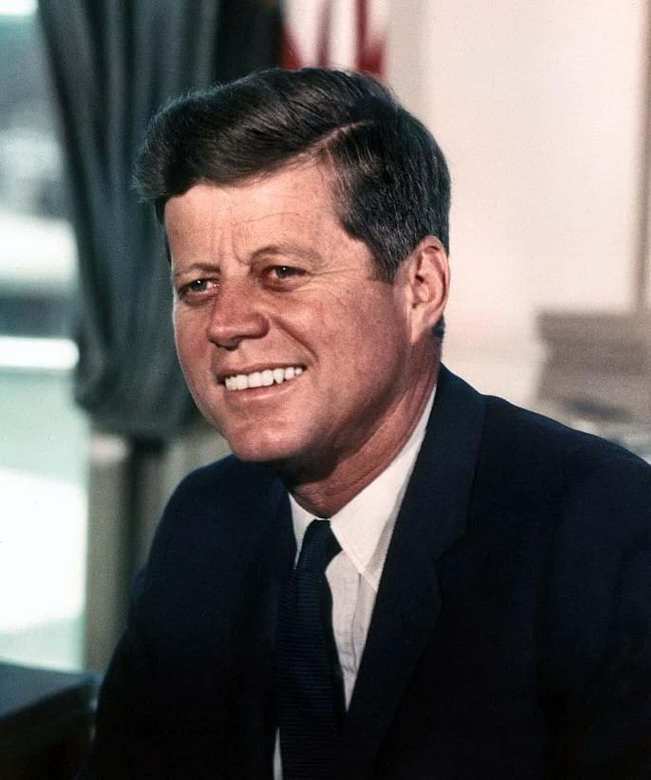 John F. Kennedy is listed (or ranked) 2 on the list Which Ex-Presidents Would You Want to Go on a Bender With?