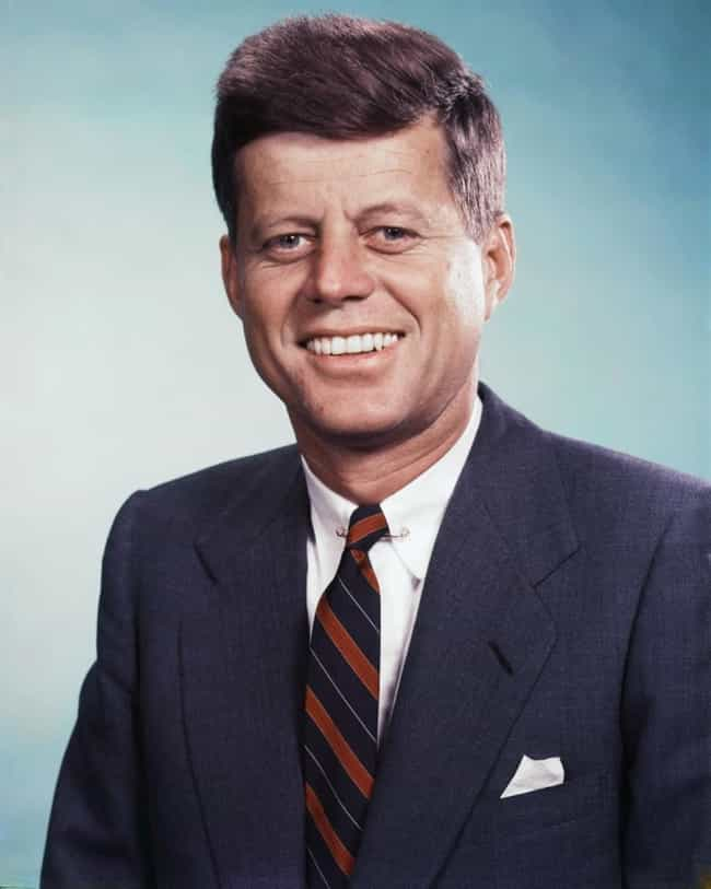 John F. Kennedy is listed (or ranked) 1 on the list Famous People Who Died of Gunshot Wounds