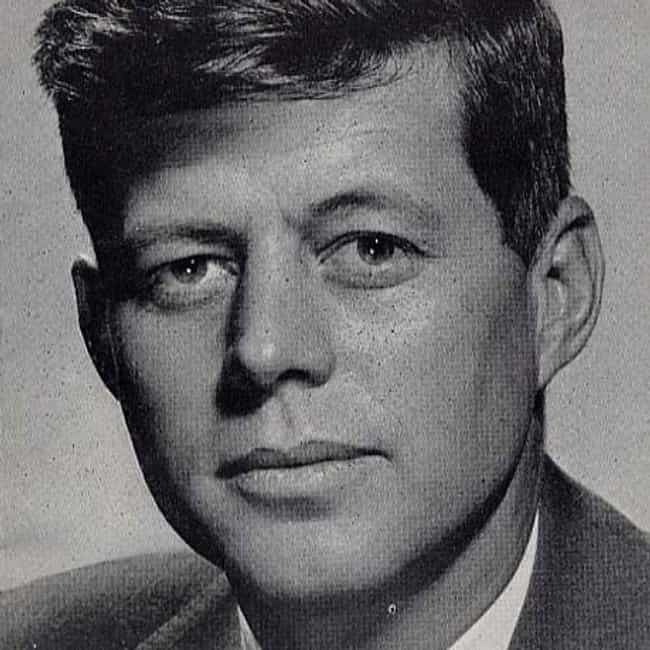 John F. Kennedy is listed (or ranked) 1 on the list The Hottest US Presidents, Ranked